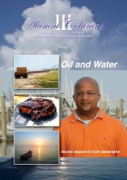 Oil and Water - Northwestern State University Alumni