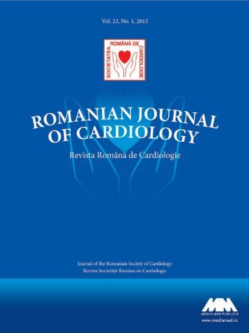 Nr. 1/2013 - Romanian Journal of Cardiology