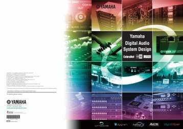 Yamaha Digital Audio System Design Guide 8.42MB