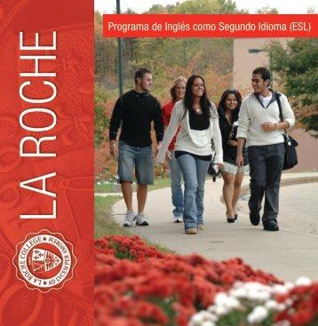 Programa de Inglés como Segundo Idioma (ESL) - La Roche College