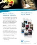 Solvents and Thinners Brochure - Page 3
