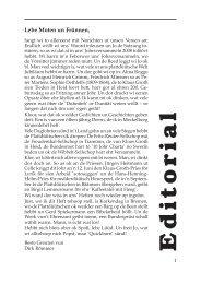 Lebe Moten un Frünnen - Quickborn. Vereinigung für ...
