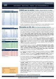Mercados en EE. UU.: los futuros pierden terreno ... - Sala de Inversión