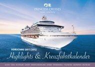 EUR pro Person - Princess Cruises