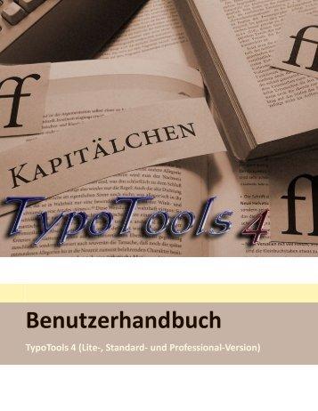 Benutzerhandbuch - TypoTools