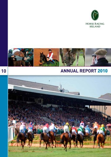 10 ANNUAL REPORT 2010 - Horse Racing Ireland
