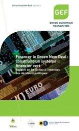 Financer le Green New Deal : construire un système financier ... - GEF