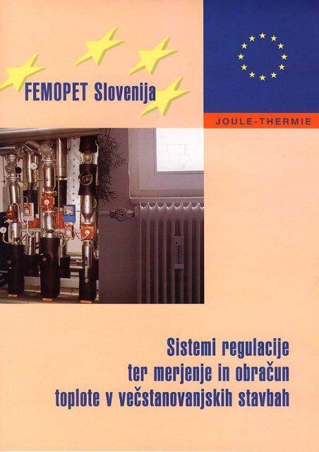 Sistemi regulacije ter merjenje in obračun toplote v ... - Gi-ZRMK
