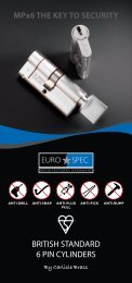 MPX6 Cylinders - Architectural Hardware Direct
