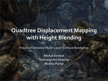 Quadtree Displacement Mapping - Drobot.org