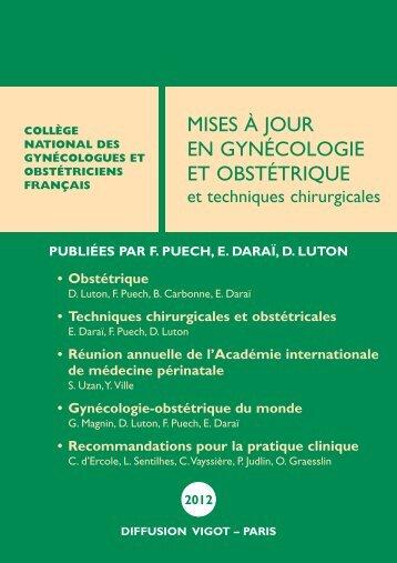 Télécharger le sommaire au format PDF - Librairie médicale Vigot ...