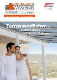 Terrassendächer… - Wintergarten Wagner