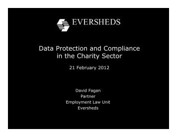 Data Protection and Compliance in the Charity Sector - Pelorous