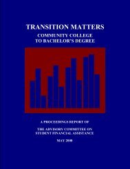 TRANSITION MATTERS - Eric - U.S. Department of Education