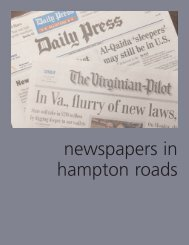 Newspapers In Hampton Roads - Old Dominion University