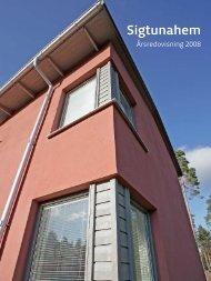 Sigtunahem Årsredovisning 2008.pdf