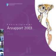 Årsrapport 2003 - Sogn og Fjordane fylkeskommune