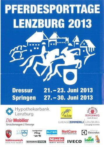 Programm - Lenzburg