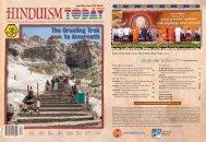 Hinduism Today April/May/June, 2013 - Hinduism Today Magazine