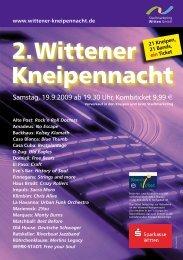 21 Kneipen – 21 Bands – 1 Ticket