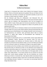Im Reich der Germanen - Bienenzuchtverein Sulzbach-Rosenberg ...