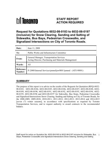 Te  Staff Report   Gerrard St E  Boulevard    City Of