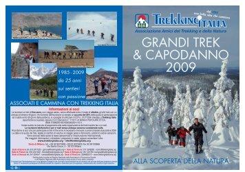 grandi trek & capodanno 2009 - Trekking Italia