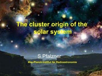 The Solar System birth cluster