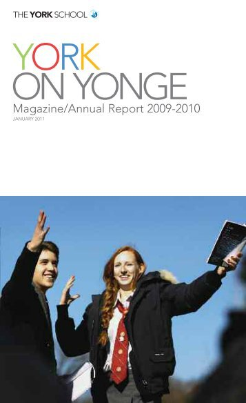Magazine/Annual Report 2009-2010 - The York School