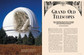 Grand Old TelescOpes