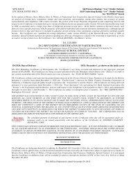 4120000 2012 refunding certificates of ... - i-Deal Prospectus