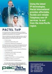 PACTEL ToIP - Pactel International