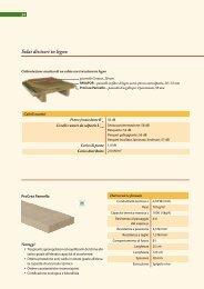 Solai divisori in legno - Naturalia Bau