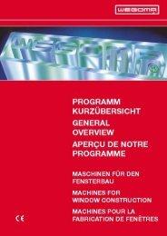 Kurzübersicht der Produkte - wegoma-d.de