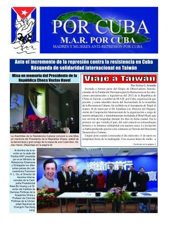 MAR # 125 Enero 2012:Layout 1 - MAR Por Cuba