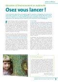 Eduquer à l'environnement en maternelle - Symbioses - Page 3