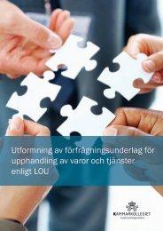 Om vägledningen - Upphandlingsstöd.se