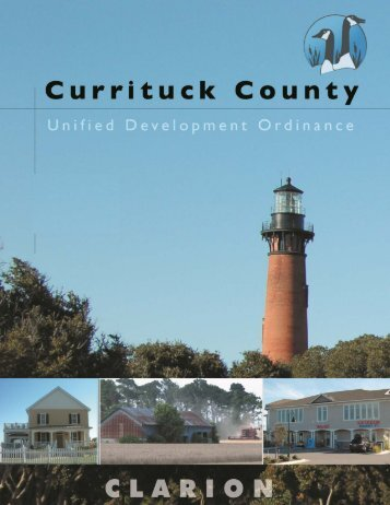 Public Hearing Final Draft - Currituck County Government