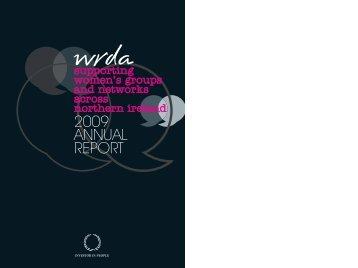 WRDA Annual Report - Women's Resource & Development Agency
