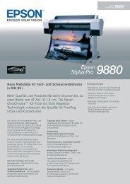 Epson Stylus Pro 9880 d