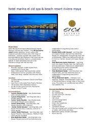 hotel marina el cid spa & beach resort riviera maya - Cancun Wedding