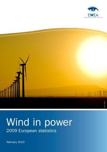 Wind in Power - European Wind Energy Association