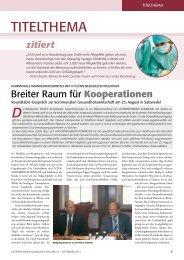 Breiter Raum für Kooperation- Kommunale ... - SNPC