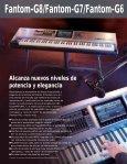 Catalogo Novedades Roland 2008 - MAT Guitar & Bass - Page 2