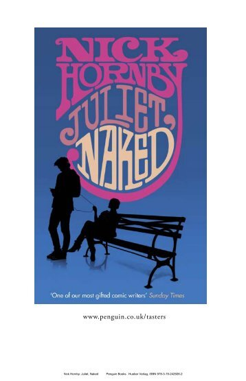 Was Nick hornby juliet naked think, that