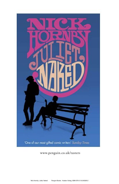 Nick Hornby: Juliet, Naked Penguin Books Hueber Verlag, ISBN 978 ...