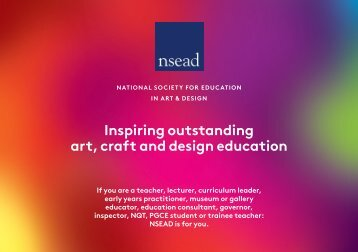 Why join NSEAD - The National Society for Education in Art and ...