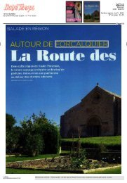 Notre Temps _article octobre (pdf - 1,40 Mo) - Vélo Loisir en Luberon