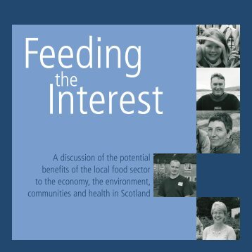 Feeding the Interest - Community Food and Health