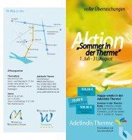 Sommer in der Therme - Gesundheits-Bad Buchau am Federsee